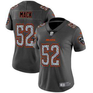 Women Bears Khalil Mack Jersey 1